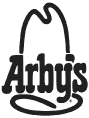 Black version of Arby's logo