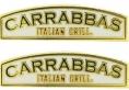 Carrabbas burn logo