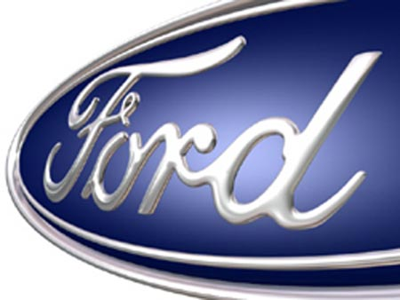 Fun Styled Ford Auto Car And Truck Logo