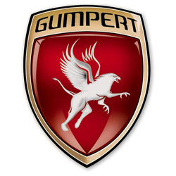 "Image of the popular ""Gumpert Logo"". A popular fast racing car brand."