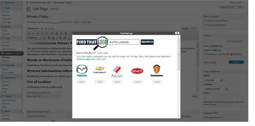FindThatLogo Plugin screenshot